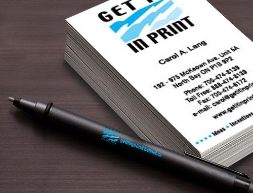Get it in Printing branding material