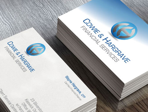 Cowie & Hargrave business cards