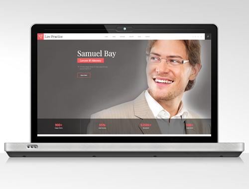 lawyer proposal website