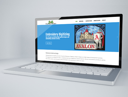 Oaktree Design website