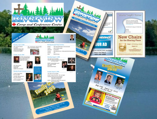 Riverview Christian Camp promotional material